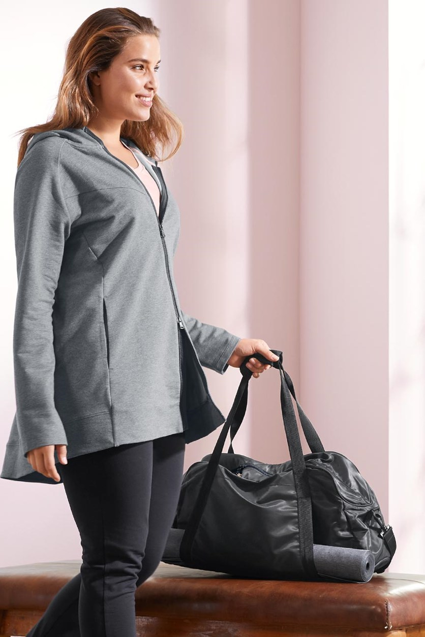 Women's Sweat Jacket, Grey