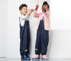 Kid's Overtrousers, Navy
