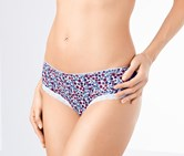 Women's Hipster Set of 2, White/Floral