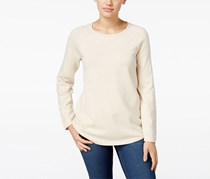 Karen Scott Women's Crew-Neck Sweater, Beige