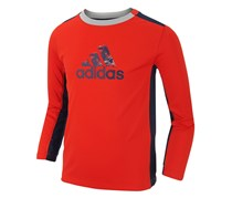Toddler Boy's Adidas Scrimmage Climacool T-Shirt, Red
