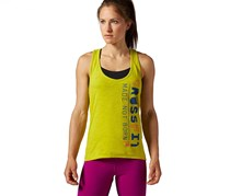 Reebok Crossfit Graphic Tank Top, Green