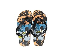 Little Boys Disney Batman Slip-On Flipflops, Black