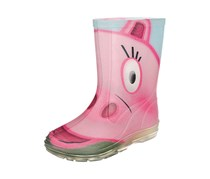 Beck Hippo Toddler's Girl's Rubber Boot, Pink
