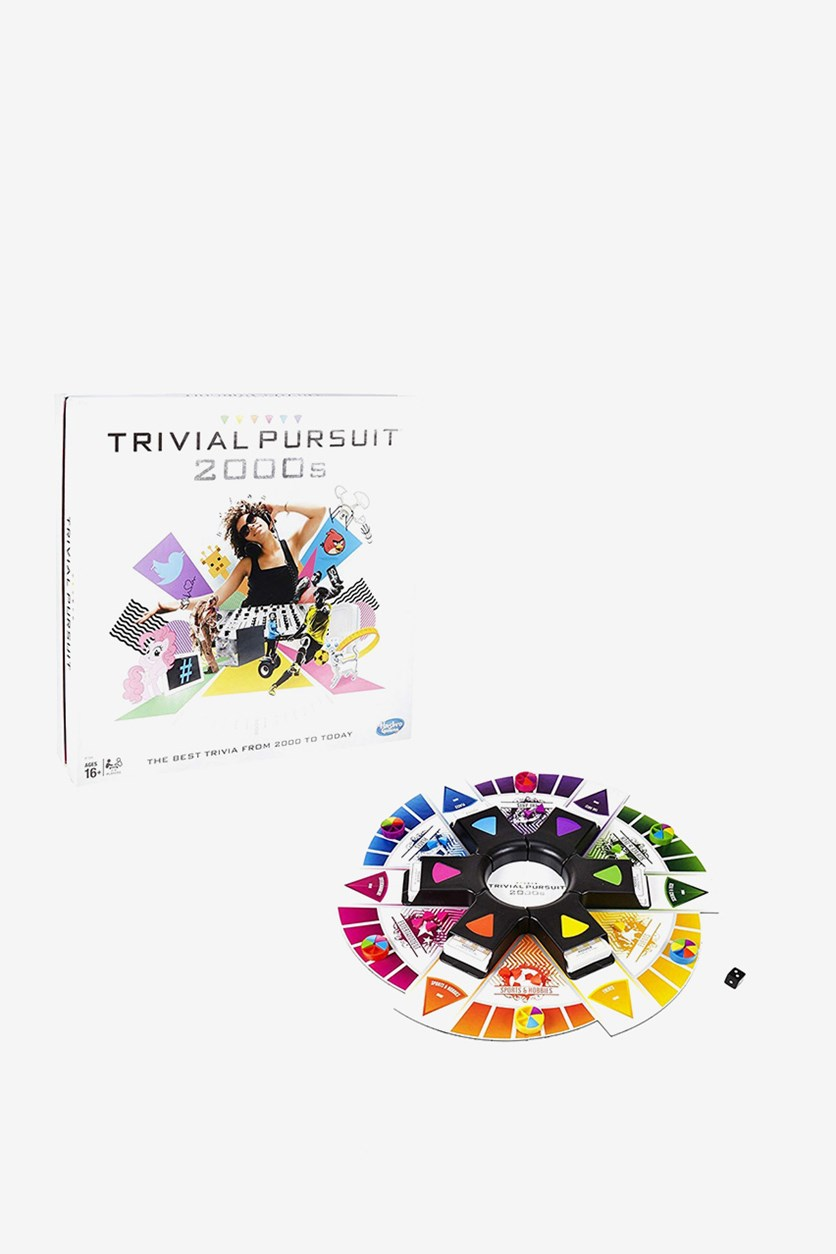 Trivial Pursuit: 2000s Edition Game, White