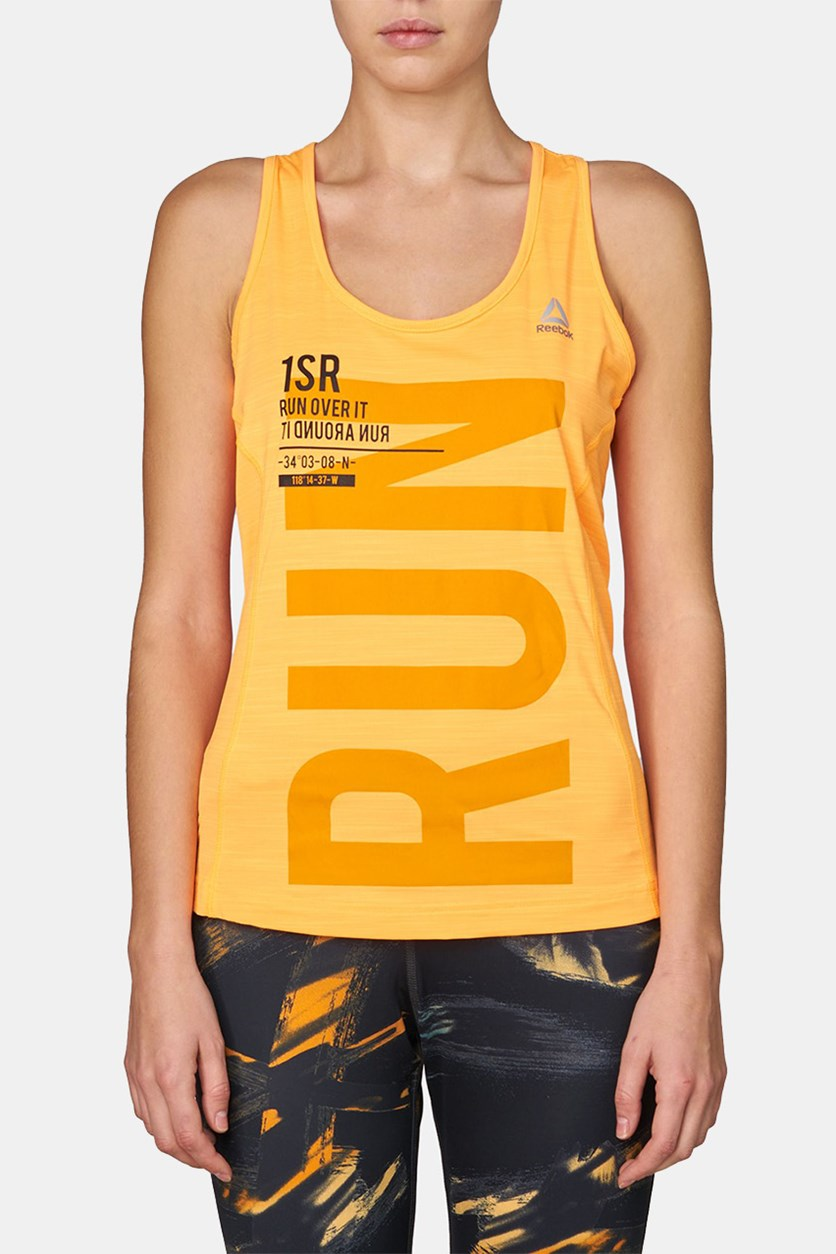 One Series Running Activechill Singlet T-shirt, Fire Spark