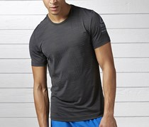 Reebok One Series Running Short Sleeves Active Chill Tee, Coal