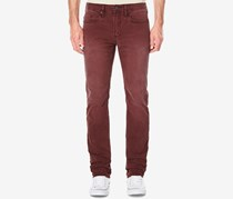 Buffalo David Bitton Men's Straight-Fit Stretch Jeans, Maroon