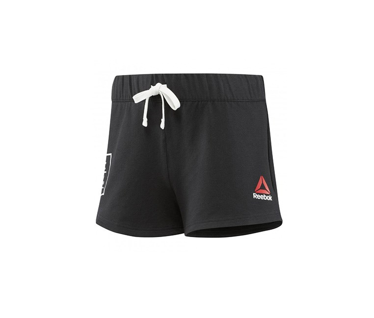 Women Mma Ufc Ultimate Fan Short, Black