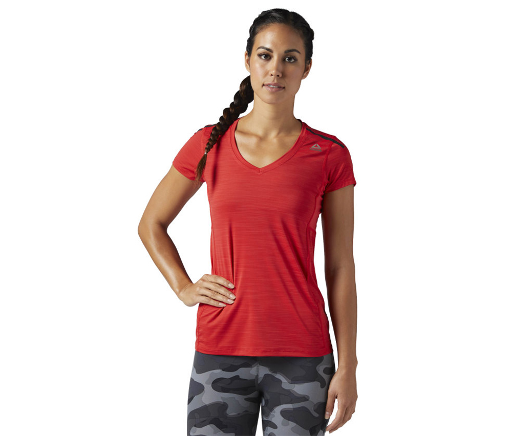 Reebok Active Chill Tee, Primal Red