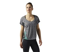 Reebok Sport T-Shirt, Dark Grey Heather