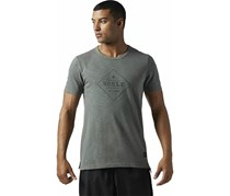 Reebok Noble Fight Tee, Iron Steel