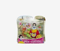 Hasbro Disney Princess Little Kingdom Sweet Apple Carriage and Doll Sniezka, Red/Green Combo