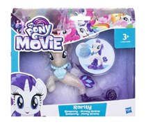 My Little Pony the Movie Rarity Seapony Solid, Blue Combo