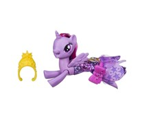 My Little Pony Ponytail Transition Pony Mermaid Princess Twilight Sparkle, Purple