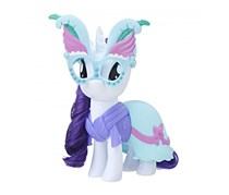 My Little Pony Snap-on Fashions Rarity, White/Blue Combo