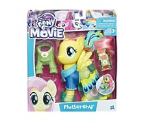 My Little Pony Snap-on Fashions Fluttershy, Yellow/Blue Combo