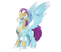 My Little Pony the Movie Stratus Skyranger Hippogriff Guard Figure, Aqua
