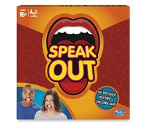 Hasbro Speak Out Game, Orange Combo