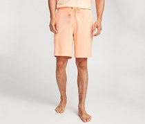 Daniel Buchler Pima Cotton Lounge Shorts, Apricot
