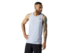 Reebok Men's Sleeveless LM Tank, Gray