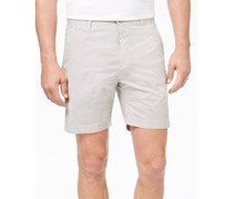 ConStruct Mens Stretch Geo-Print Short,  Khaki