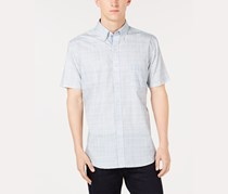 ConStruct Men's Plaid Shirt, Grey