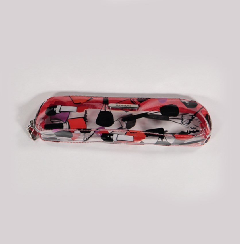 Polonaise Rouge Makeup Case, Red Polish