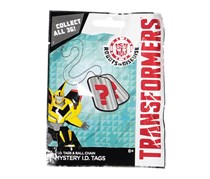 Forever Clever Transformers Robots in Disguise Mystery ID Tags
