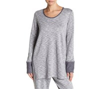 Natori Galaxy Shirt, Silver/White/Grey