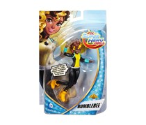 DC Comics Super Hero Girls Bumble Bee Action Figure, Black/Brown/Yellow