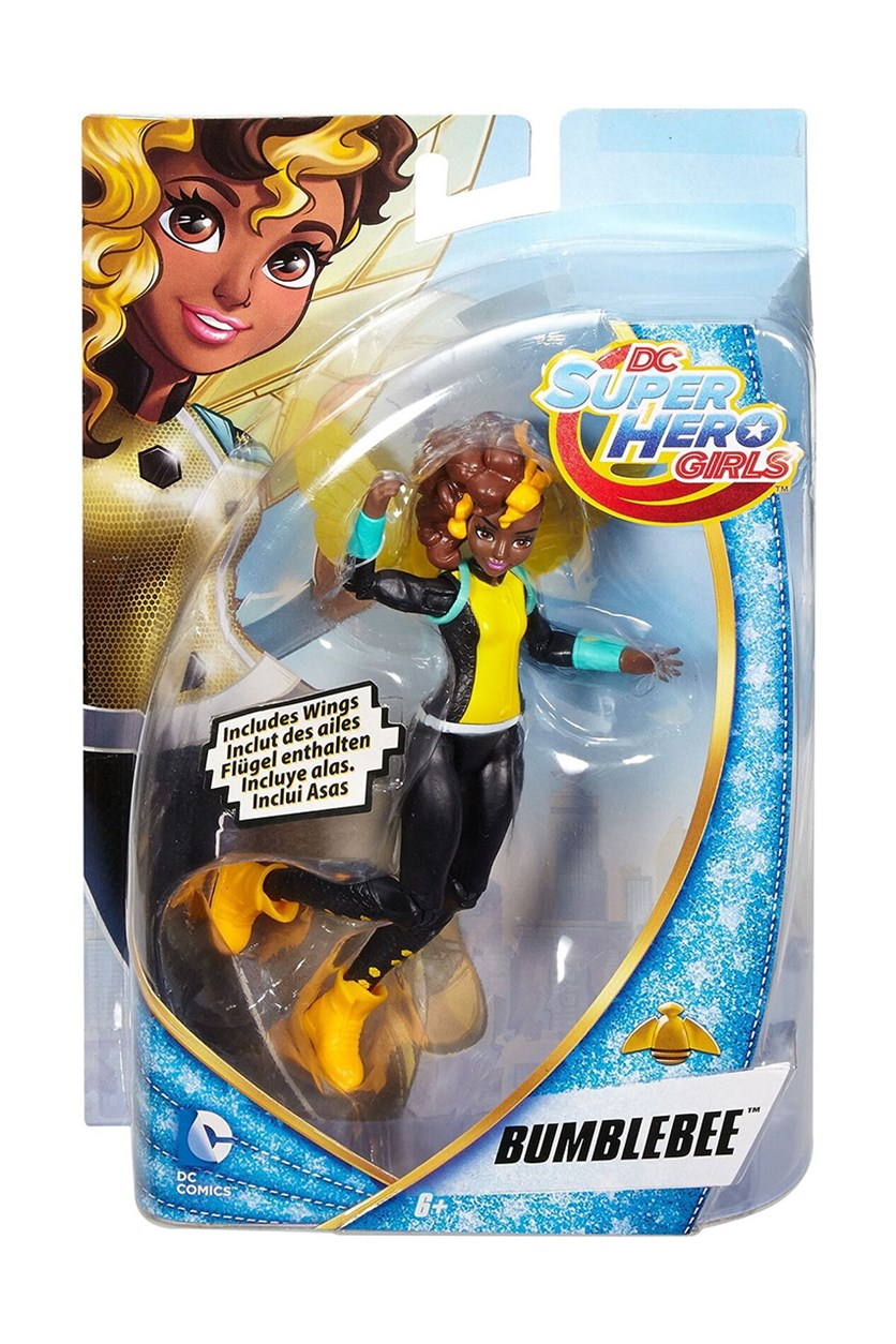 Comics Super Hero Girls Bumble Bee Action Figure, Black/Brown/Yellow