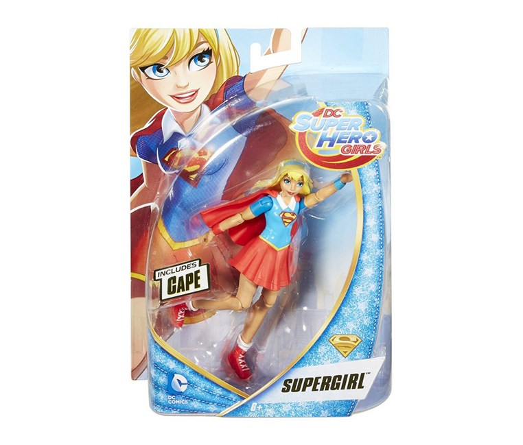 DC Super Hero Girls Super Girl Figure, Blue/Red