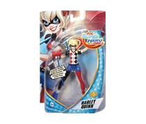 DC Super Hero Girls Harley Quinn Action Figure, Blue/Black