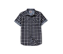 Flag & Anthem Desert Son Chandler Garment Wash Short-Sleeve Shirt, Navy