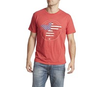 Flag & Anthem Men's Freedom Riser Tee, Red Heather