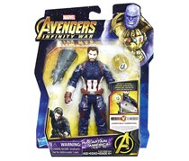 Marvel Avengers 6 in Figures With Stone And Accessory, Captain America