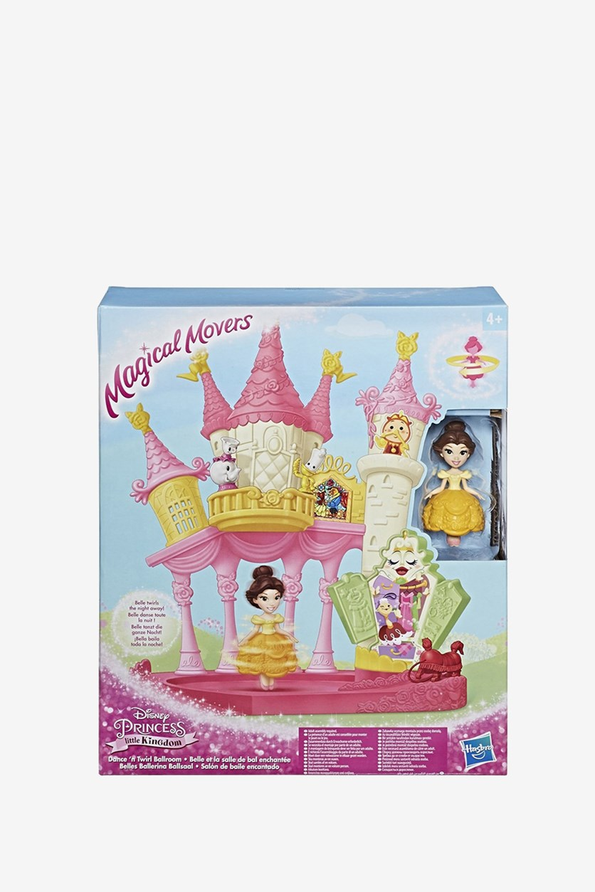 Princess Belle Magical Movers Dance Hall, Yellow/Pink Combo