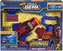 Nerf Marvel Avengers Agear Spiderman, Red/Blue