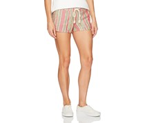 Roxy Juniors Printed Soft Shorts, Dark Pink