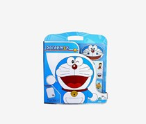 Toy Triangle Coloring Doraemon Mega Design Set, Blue/White