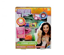 Forever Fashion Funny Loops, Pink/Orange