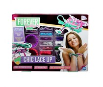 Forever Fashion Chic Lace Up Toy, Purple/Pink