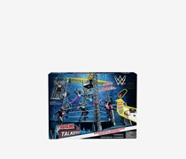 WWE Tough Talkers Championship Takedown Ring Playset, Blue Combo