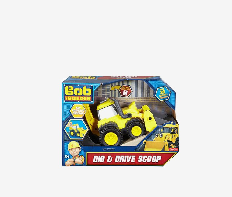Dig and Drive Scoop, Yellow