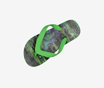 Ben 10 Little Boy Brad Flip Flops, Green Combo