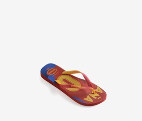 Havaianas Men's Team Espana Flip Flops, Red/Yellow