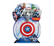 Marvel Avengers Assemble: Captain America Bendable Keychain, Red