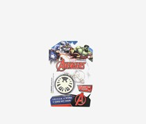 Marvel NJ Croce S.H.I.E.L.D./Hydra Two Sided Keychain, Red/White