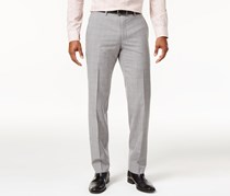 Bar Iii Men's Plaid Suit Pants, Light Gray